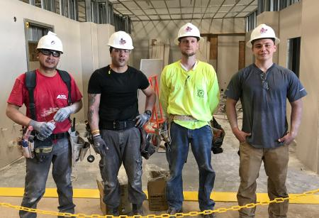 Knoxville Tennessee Carpenter Wins UBC Southern District Drywall Olympics